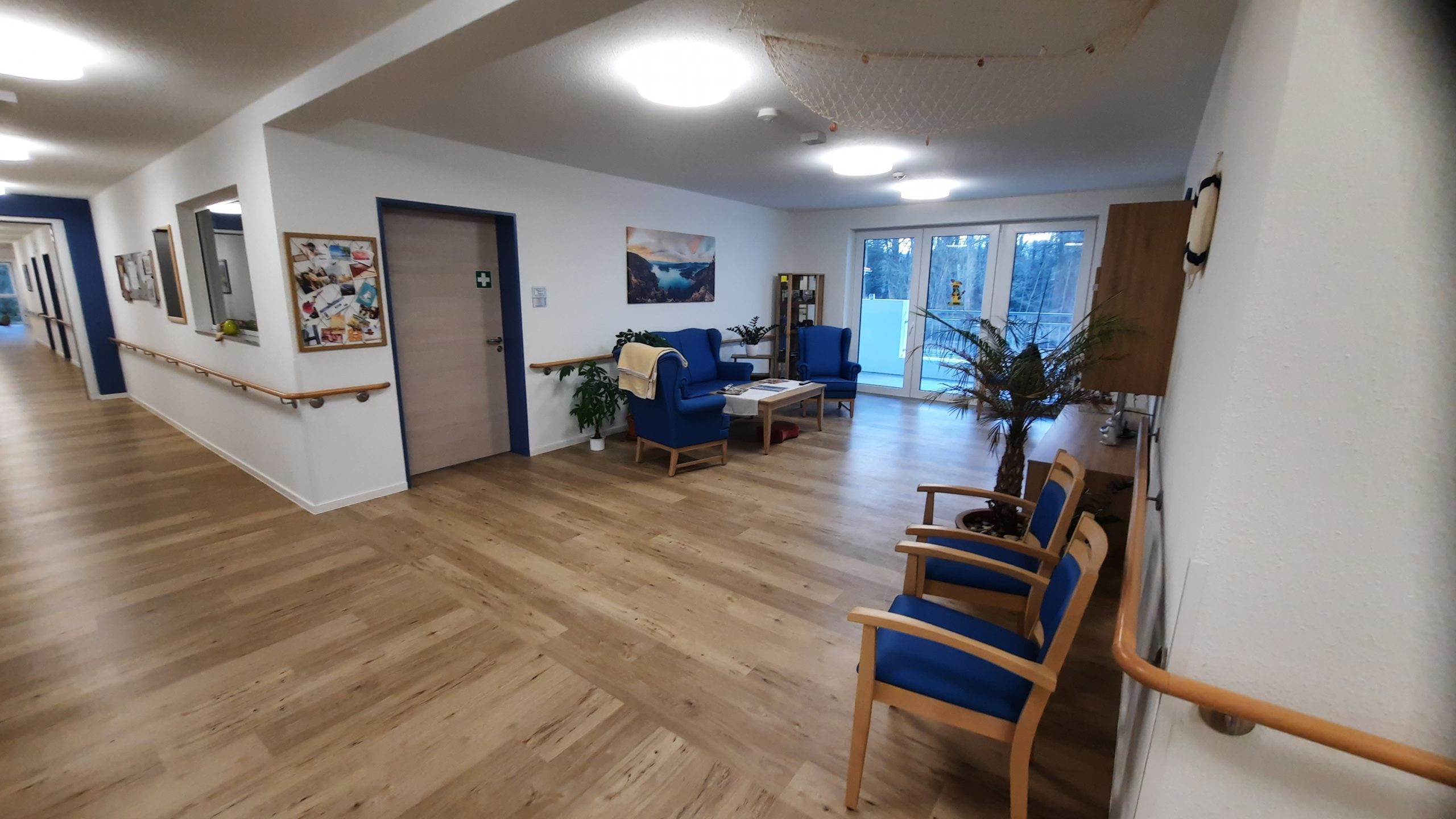 Vorbereich Dienstzimmer im Obergeschoss