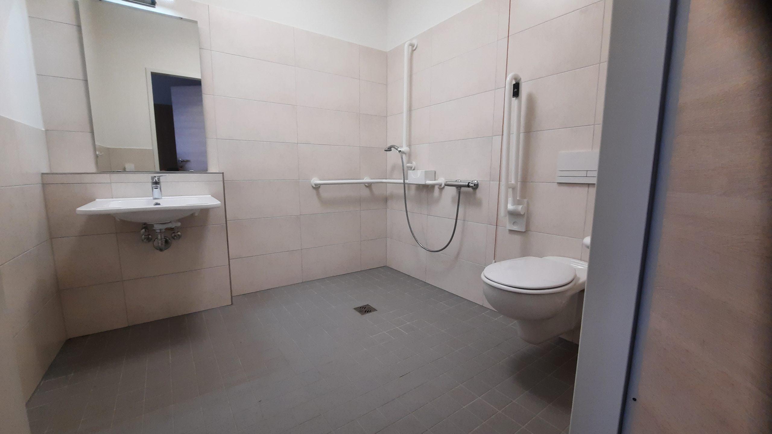 Bad eines Bewohnerzimmers